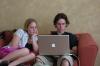 Hayden & Elisse computing
