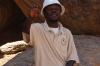Our guide Marcus, giving his Michael Jackson performance, Brandberg Mountain, Namibia