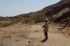 Our guide Marcus. Brandberg Mountain, Namibia