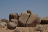 Boulders, exposed by time, Brandberg Mountain, Namibia