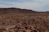 The valley of the Rock Art (pertoglyphs) at Twyfelfontein, Namibia