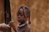 Young girl. Katenda Himba Village, Toko Lodge, Namibia