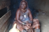 Cleansing ritual with smoke and herbs. Katenda Himba Village, Toko Lodge, Namibia