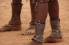 Ankle decoration for women who have children. A visit to the Katenda Himba Village, Toko Lodge, Namibia