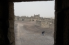 Qasr Al Azraq (Desert fort of black basalt) - view from Lawrence's quarters