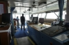 Inside the Bridge of MS Expedition while crossing the Drake Passage AR