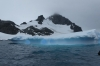 Icebergs from Zodiac expedition near George's Point, Antarctica