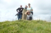 Bruce, Graham, Thea  & Pat near Burton Bradstock, Dorset