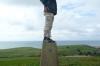 Graham surveys the Jurassic Coast, Dorset GB