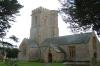Church of Burton Bradstock village, Dorset GB