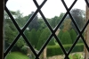 View to the garden from Athelhampton House
