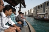 Abras (water taxis) on the Dubai Creek