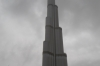 Burj Khalifa during a dust storm - world's highest building, Dubai