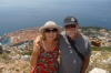 Bruce & Thea above Dubrovnik HR