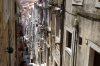 Narrow streets in Dubrovnik