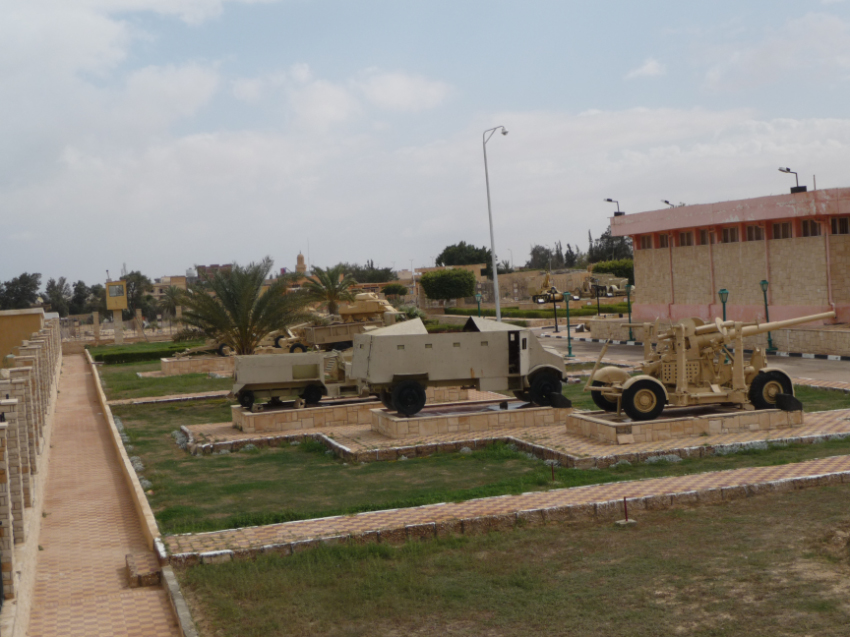The military museum of El Alamein