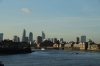 View from Canary Wharf, of the Thames