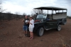 Sundowners Drinks, Ongava Safari Drive, Namibia