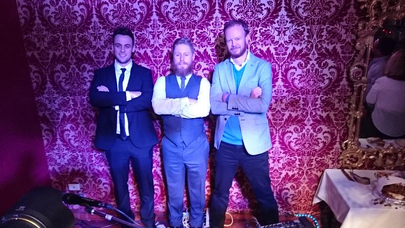 Cousins - Alex, Evan, Mike