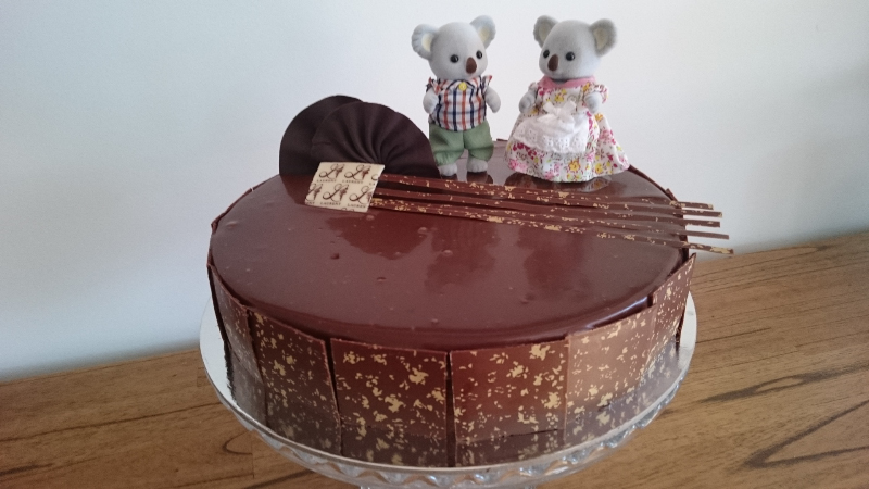 The Sunday wedding cake with Sylvania koalas