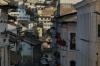 Looking up Venezuela Street, Quito EC
