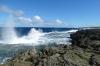Mapu 'a Vaea Blow Holes at Ha'kame, Tongatapu Island, Tonga
