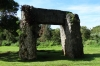 Ha'amonga Trilithon (Stonehenge of the South) to calculate the northern & southern solstices, Tongatapu Island, Tonga