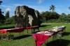 Ha'amonga Trilithon (Stonehenge of the South) to calculate the northern & southern solstices, Tongatapu Island, Tonga