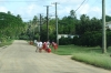 School children walking home in Tonga (video attached)