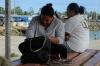 Waiting for boats at the ferry terminal, Nuku'alofa, Tonga