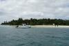 Arriving at Fafa Island, Tonga