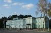 Old Soviet building, now a theatre, Al-Fergani Park, Fergana