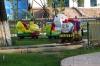 Children's playground near Al-Fergani Park, Fergana