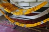 Designing patterns for dying silk thread, Silk Factory, Margilon