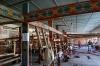 Hand weaving thread-died silk, Silk Factory, Margilon