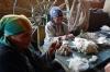 Hand spinning silk, Silk Factory, Margilon