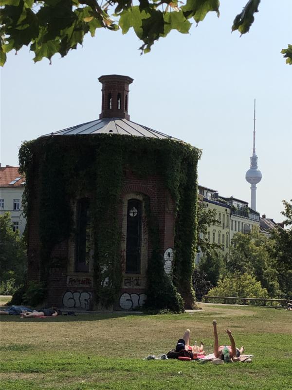 Wasserturmplatz and some of the most expensive accommodation in Prenzlauerberg, Berlin DE