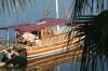 Boat moored at Fethiye