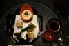First Japanese meal at the Kurodaya Ryokan, Beppu, Japan