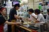 Okonomi-yaki (Savoury Pancake) in Hiroshima