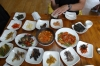 Vegetarian lunch at Gobawoo Restaurant near Gayasan Haein Temple, South Korea
