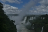Plume of spray from Devil's Throat, Iguaçu Falls, BR
