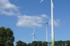 Wind farm, west of Millau. Spot Thea. FR