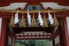 Side gate into the Dazaifu Tenman-gū (shrine), Japan