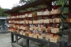 Wishes written at the Dazaifu Tenman-gū (shrine), Japan