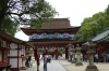 Main entrance gate at the Dazaifu Tenman-gū (shrine), Japan