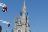 Cinderella Castle from Main Street, Disney World Magic Kingdom FL