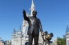 Walt Disney & Mickey Mouse, Disney World Magic Kingdom FL