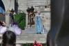 'Let the Magic Begin' show at the Cinderella Castle, Disney World Magic Kingdom FL