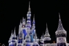Cinderella Castle at night, Disney World Magic Kingdom FL